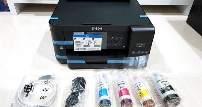Printer Eco Tank Keluaran Merek Epson