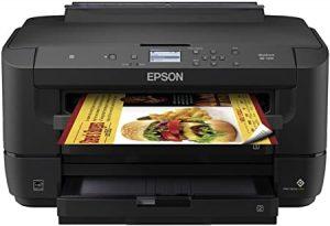 Printer epson workforce wf 7210 wireless wide