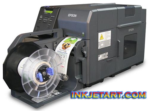 Printer Epson TM-C7500G, Tinta Pigmen Tahan Lama