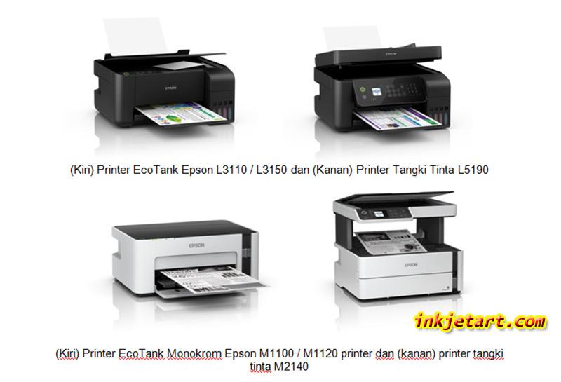 Drop-on-demand Printer Inkjet Merk Epson