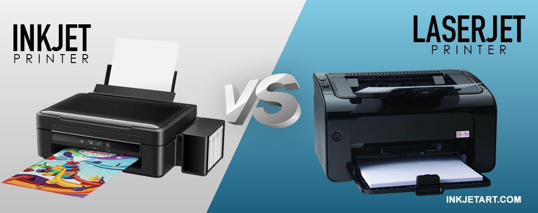 Analogi Printer Laserjet VS Printer Ink Tank