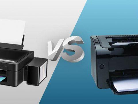 Perbandingan Antara Printer Tinta( inkjet) serta Printer Laser