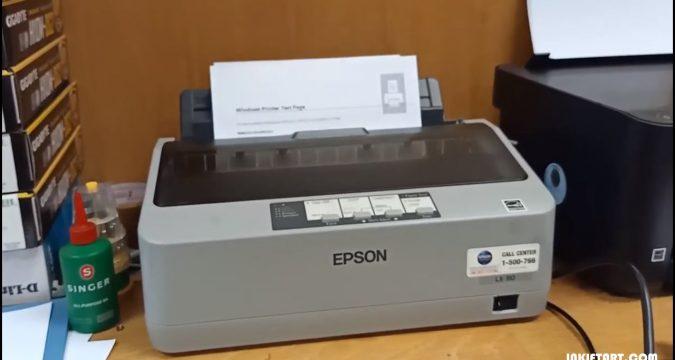 Metode Gampang Memperjelas Hasil Print di Printer Epson